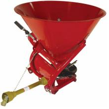 Seed and fertilizer spreader broadcast sower