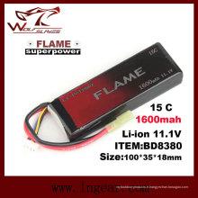 Firefox 11.1V-batterie de 1600 15C LiFePO4 LFP
