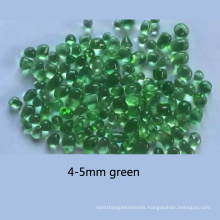 Green Color Glass Beads for Decoration