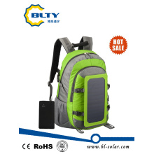 Solar Charger Backpack with 6.5W 6V Solar Panel