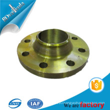 CS ss400 q235 material yellow paint welding flange