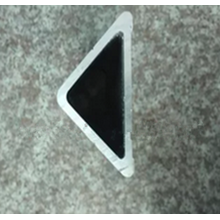 Mill Finish Extruded Triangle Aluminum Profile