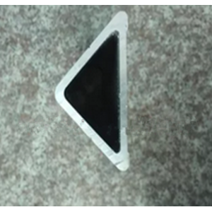 Mill Finish Extruded Triangle Aluminium Profile