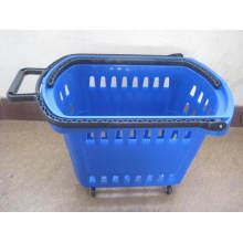 Cesta de compras plástica barata en venta Yd-B7