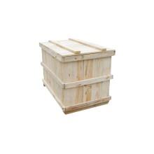 La caja de madera de embalaje de logística respetuosa con el medio ambiente