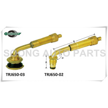 Válvulas de tipo giratorio de gran calibre Válvulas de neumáticos para agricultura y fuera de carretera