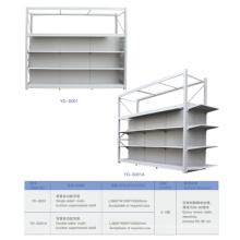 Heavy Duty Multi-Function Metal Advertising Shelf System
