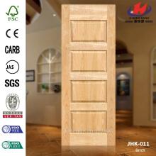 Glass Natural Veneer Birch Plywood Door Skin