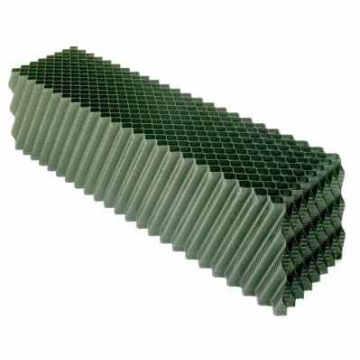 Film PVC mat vert pour le remplissage de la tour de refroidissement
