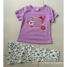 El traje de verano de los pijamas de la niña del verano en los niños lleva Bb-401