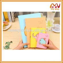 Kawaii korean papeterie de petit portable d'éléphant, acheter un cahier en Chine
