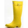 Nice Yellow Women Hunter Last Rubber Boots