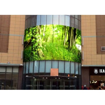 Full Color High Grey Scale Curved LED Display