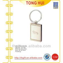 Metal Laser engraving logo keychain/keyrings for promotion gifts