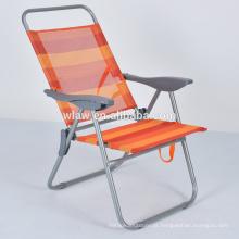 Cadeira de praia de dobramento portátil do lazer