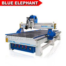 1300mm Wide 3700mm Length Automatic Industrial Oscillating CNC Router Wood Foam Fabric Carving Cutting Machine for Sale