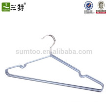 pvc coated metal wire hanger for hanging wet clothes
