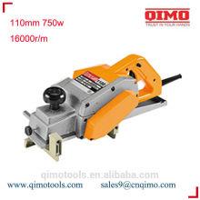 Máquina de cepilladora de madera 82mm 500w 16000rpm qimo herramientas eléctricas