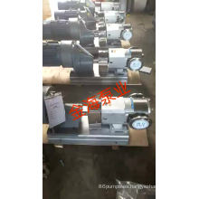 Bomba de engranajes de rotor de acero inoxidable para líquidos de alta viscosidad