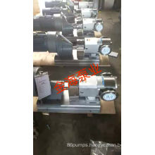 Stainless steel rotor gear pump for high viscosity liquid