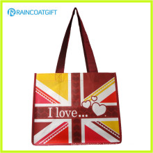 Promotion Recycle Laminated PP Non Woven Shopping Bag RGB-091