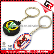 2014 Promotional soft pvc rubber keychain