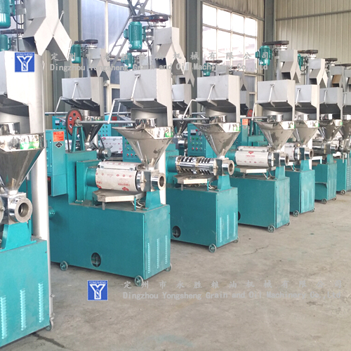Low Oil Residues oil press