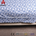 90gsm high quality custom printed photo duvet cover matching with cushion cover