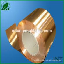 Aleación de cobre del fósforo CuSn6
