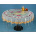 140 * 215 cm Runde PVC Gedruckt Transparente Tischdecke von Independent Designlfb () und Wasserdicht, Öldicht Merkmal für Zuhause / Outdoor / Hochzeit