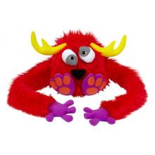 OEM design! Fuzzy Hat Puppet Monster funny cap furry monster