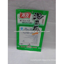 Chicken Feet packaging bag/vacuum peppery chicken plastic pachaging pouch