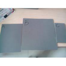 PVC-Schild, PVC-Material schwarz und transparent Farbe PVC-Schaum-Brett