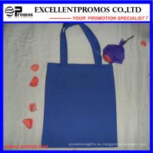 El logotipo modificado para requisitos particulares imprimió bolsos de totalizador de las compras del algodón (EP-B9098B)