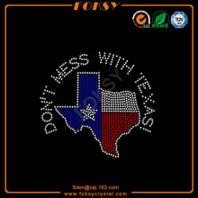 Texas wholesale heat press rhinestone transfers