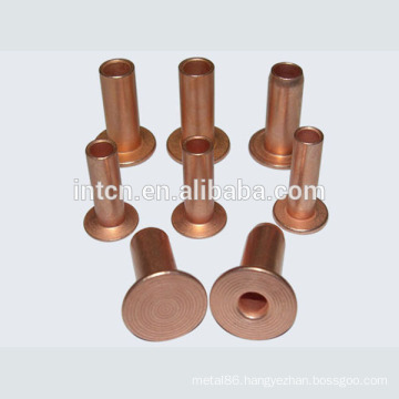 Good quality hollow copper rivet factory supply