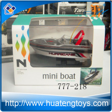 Newest 4ch Radio Remote Control Mini Rc boat model 4colors racing boat 777-218