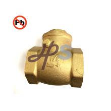 Válvula de verificação de bronze sem chumbo padrão do balanço NSF-61 para o sistema da água potável