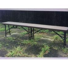 6FT Современный ротанговый пластиковый складной скамья Park Bern
