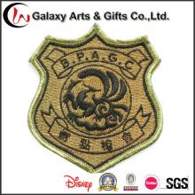 La mejor insignia de encargo de Jean de la calidad del logotipo remienda el bordado