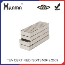Small Size Strong Neodymium NdFeB Block Magnets N50 N52