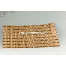 Tapis en bambou brut pour table à thé, 32 * 25cm