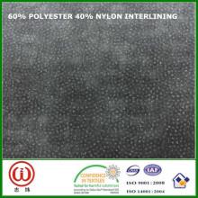 45 g / m² 90 cm Largeur d'interfaçage 60% polyester 40% nylon interlining pour sacs
