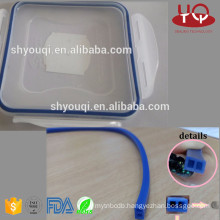 Clear or colored Food Silicone/VMQ Rubber Sealing O Ring for Lunch box oring Fresh container rings