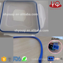 O anel de vedação de borracha claro ou colorido do silicone do alimento / VMQ para a lancheira oring anéis frescos do recipiente