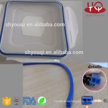 Прозрачной или цветной пищевой силикон/материал резиновый уплотнение колцеобразного уплотнения для коробки обеда оринг свежий контейнер колец