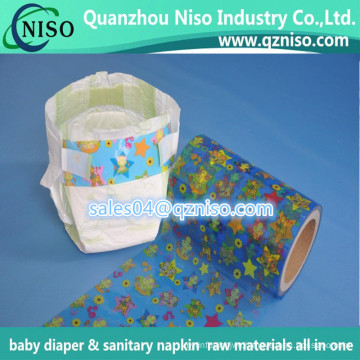 Raw Material Disposable Diaper Frontal Tape Nonwoven Hook Side Tape