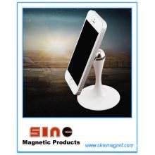 Креативный автомобильный держатель для мобильного телефона с магнитным вращением на 360 градусов