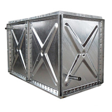 Solid Square Water Supply Tank Steel New Water Tank Container
