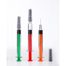 Colored Plunger Rods Prefilled Syringes